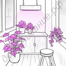 """Фитолампа мультиспектр """"Алюдра"""" 100-400Вт для досвечивания тепличных культур, домашних цветов и рассады"""